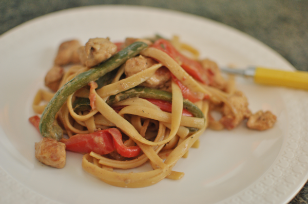 easy cajun chicken pasta