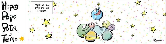Hoy es el dia de La Tierra