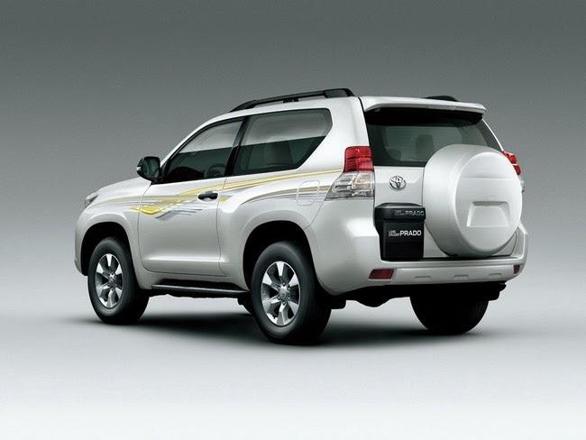 Toyota Land Cruiser prado 2014 den pha thiet ke theo cong nghe led hien dai