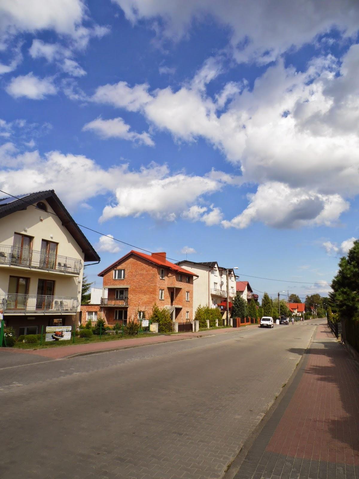 domy zachodniej części Ostrowa