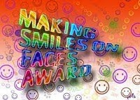 Make Me Smile Award from Read. Write. Repeat!