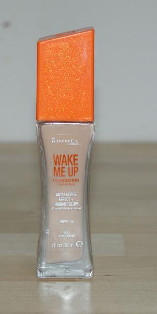 Obudź się z Rimmel, czyli Wake Me Up na mojej twarzy