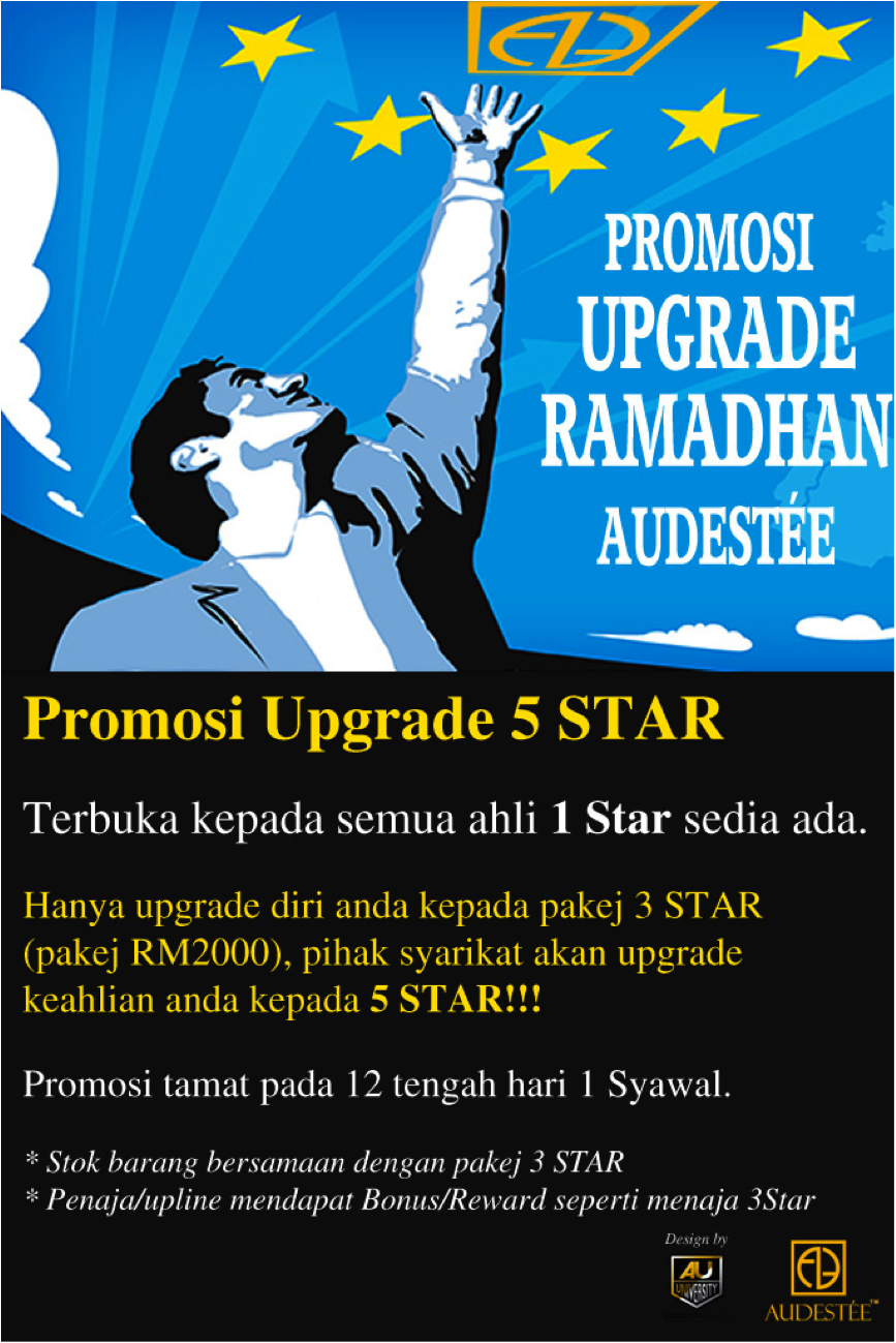 Promosi Upgrade 5star