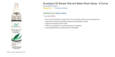 Give Eucalyptus Oil for Christmas