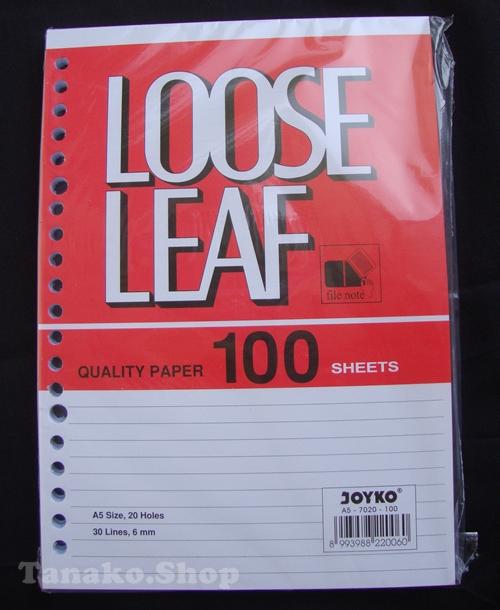 jual loose leaf murah