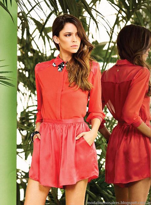 Naima primavera verano 2015 faldas de moda 2015.
