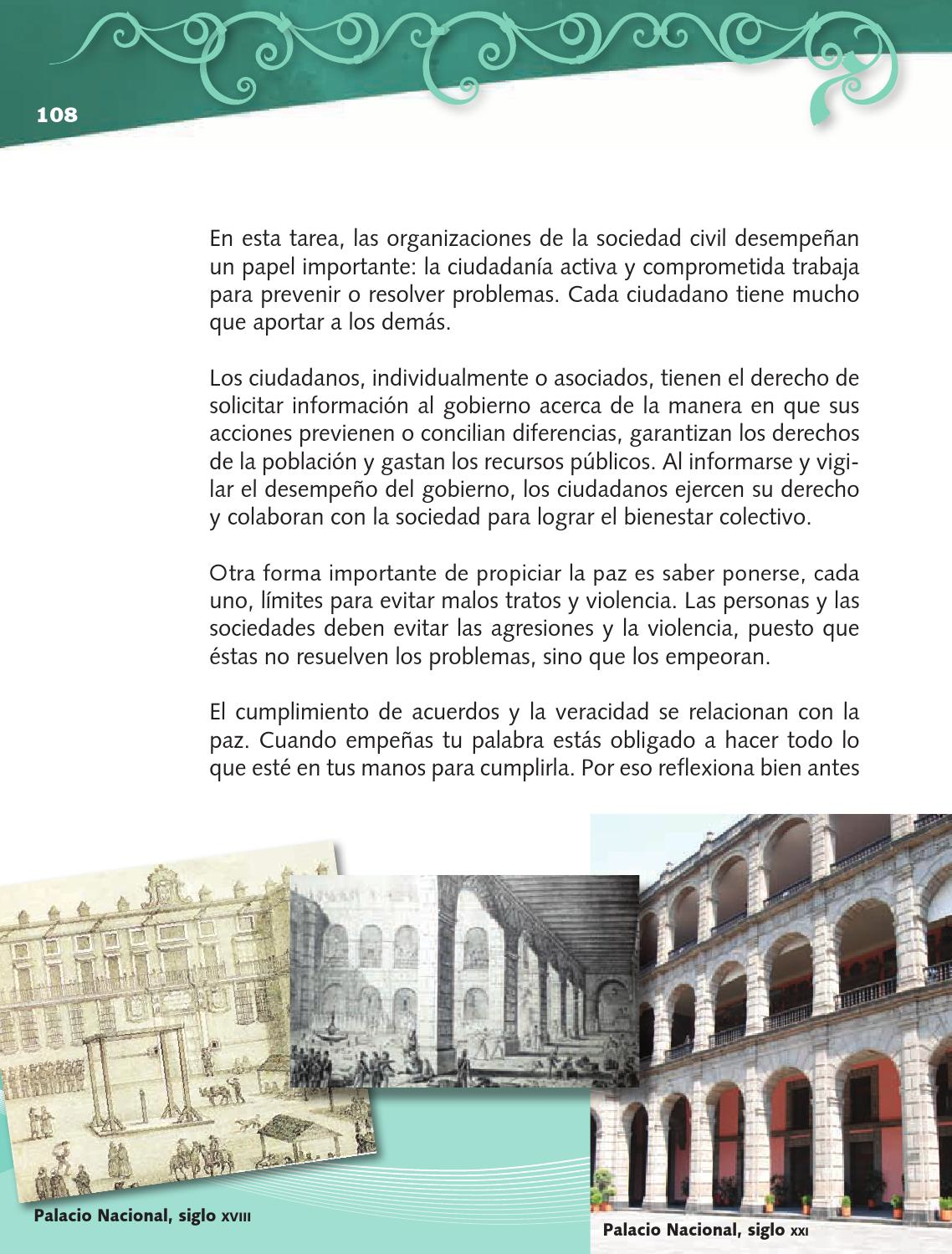 Platiquemos - Formación Cívica y Ética 4to Bloque 5 2014-2015