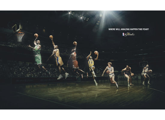 Thoughts On Advertising Nba Finals Poster