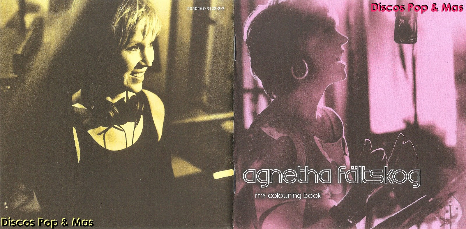 Discos Pop & Mas: Agnetha Faltskog - My Colouring Book