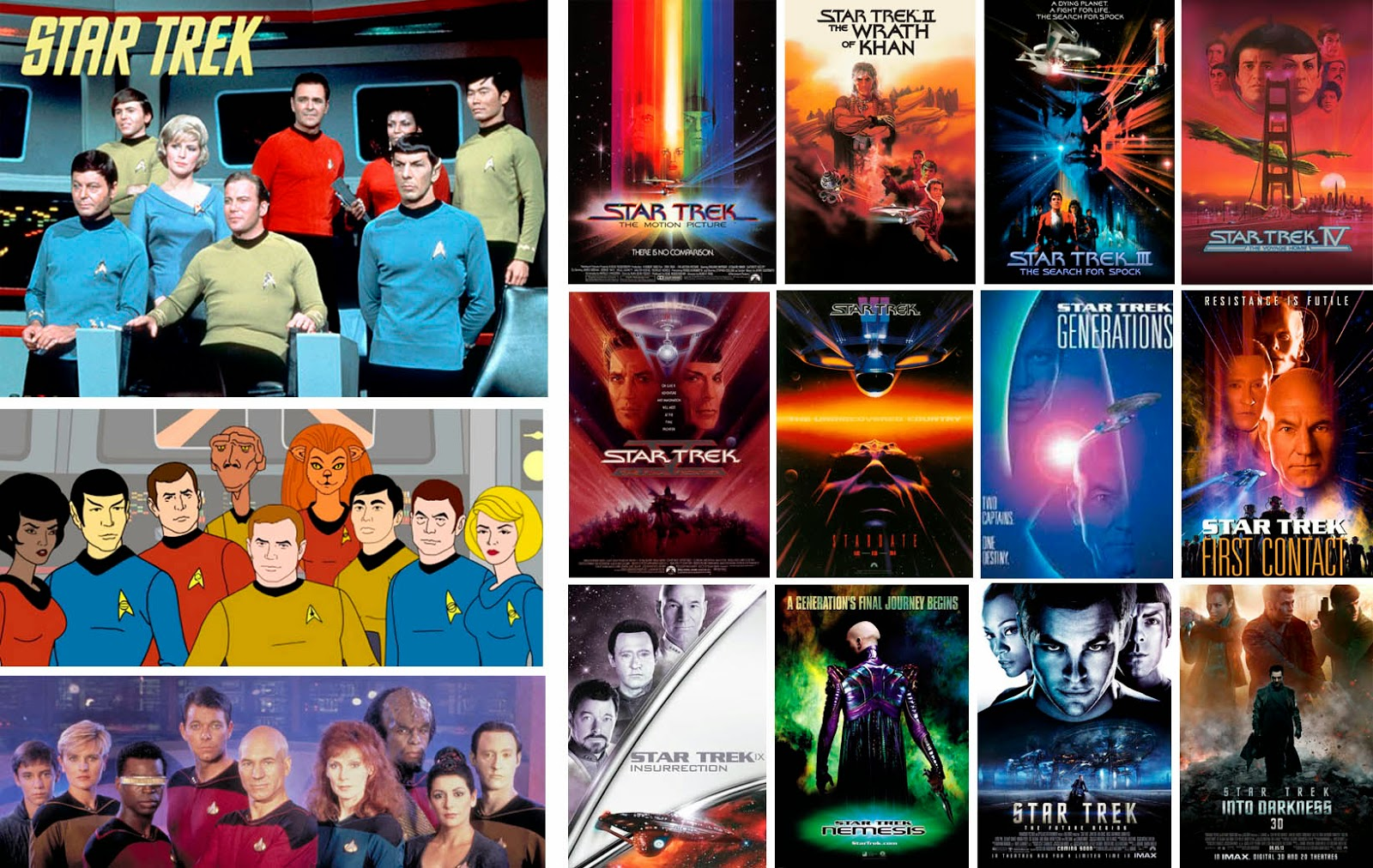 'Star Trek', proyectos cinematográficos