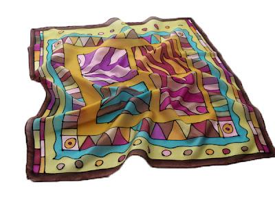 Kézzel festett női selyem sálak, kendők - Ideális ajándék nőknek születésnapra, Karácsonyra
