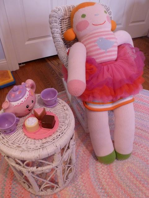 Tea party in nursery