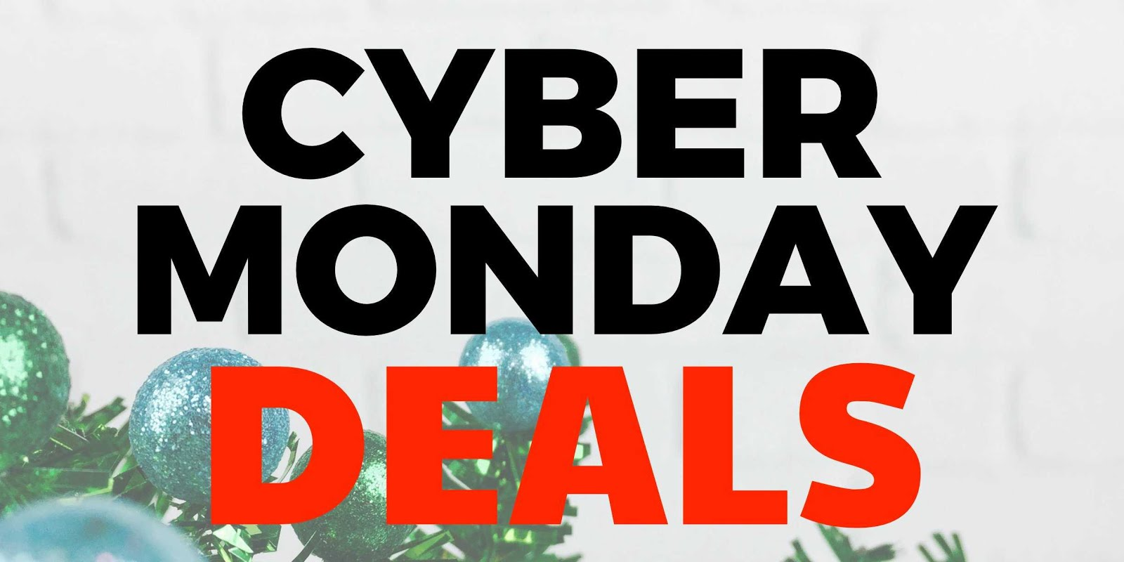 Shop Cyber Monday all month long...
