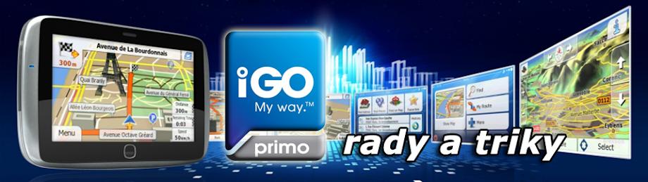 iGo Primo: rady a triky