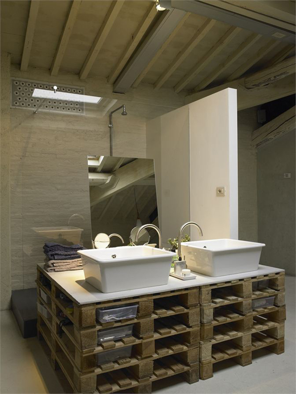 originales lavabos con piezas recicladas - Lavabos Originales