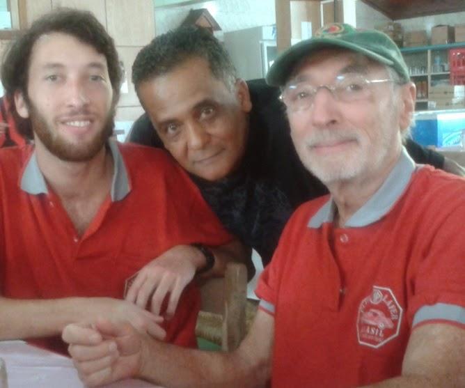 Gabriel, Toninho e Percival: o MP agregando gerações distintas.