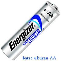 batre ukuran AA - Energizer