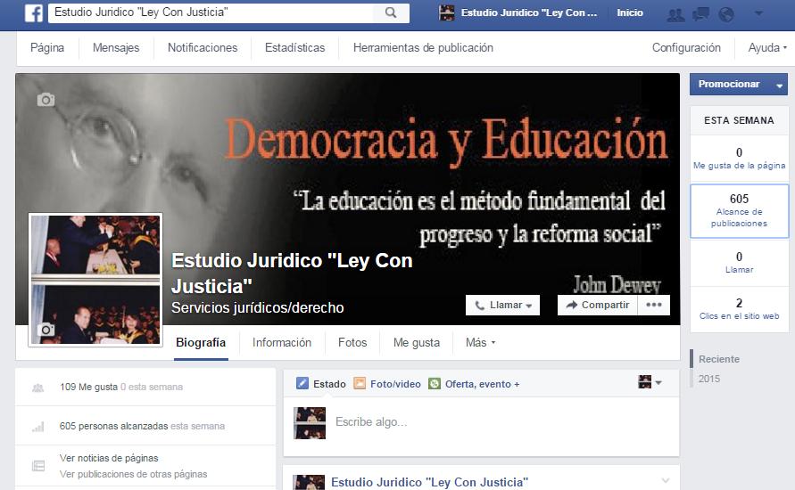 """Estudio Jurídico """"Ley Con Justicia"""""""