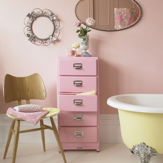 decoracao banheiro retro : decoracao banheiro retro:Pink Bathroom Ideas