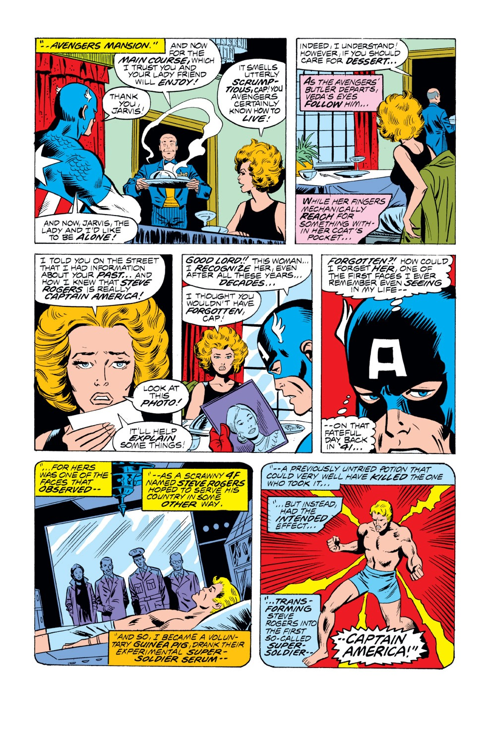 Captain America (1968) Issue #218 #132 - English 5