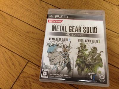 METAL GEAR SOLID HD EDITION メタルギアソリッド HDエディション PS3 プレイステーション3