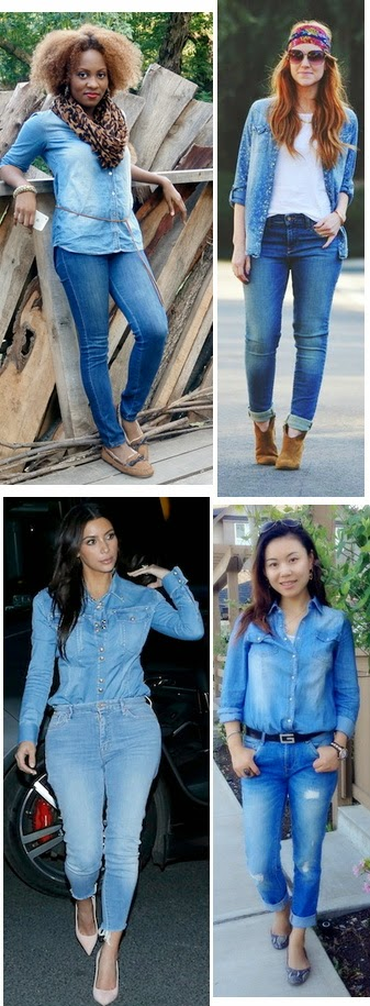 denim on denim combination
