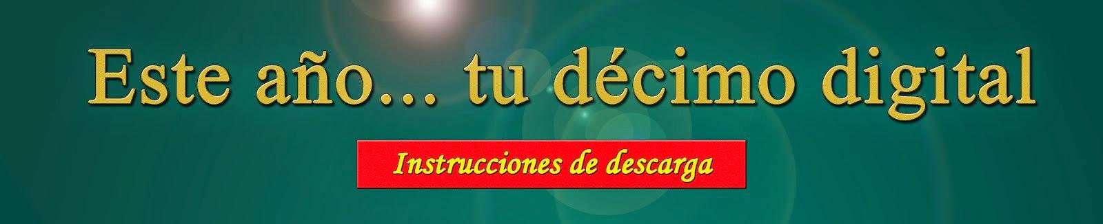 INSTRUCCIONES DE DESCARGA