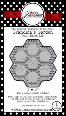 Grandma's Garden Quilt Block Die