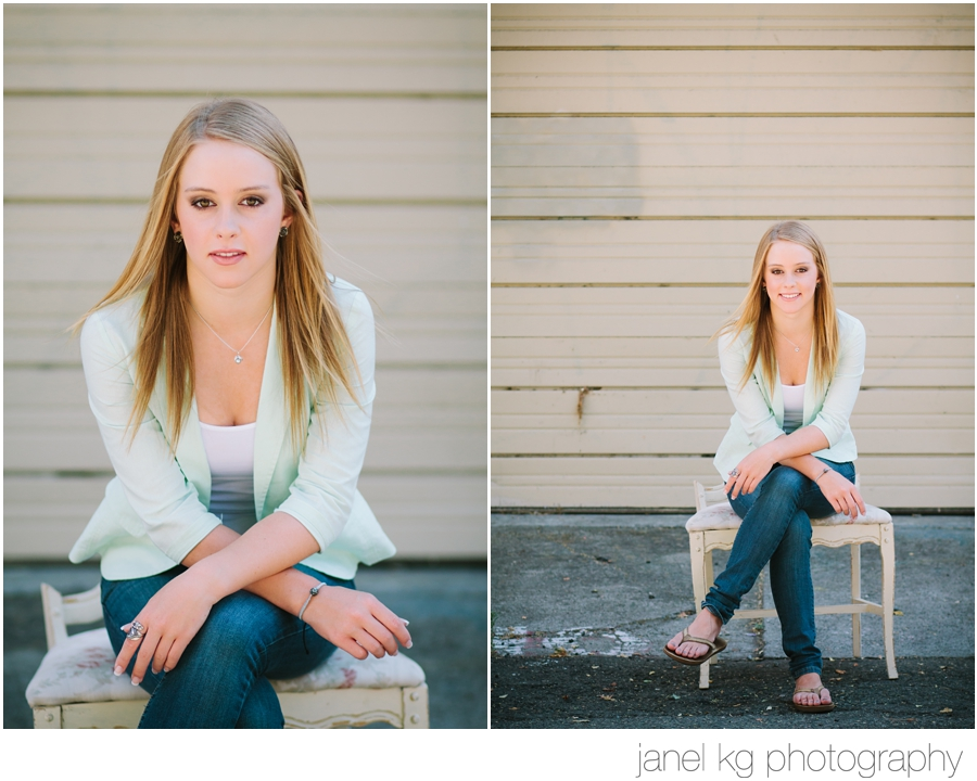 Audrey's Sacramento senior portrait session with Janel KG Photography... Love this pose for senior girls!