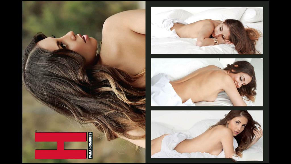 Revista H Para Hombres México (Gloria Aura) [Julio/2013] PDF HQ