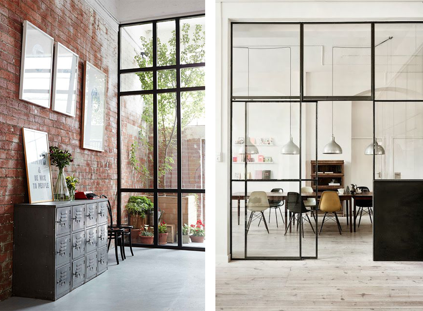 La fabrique d co style industriel comment d corer fa on loft ou atelier - Bureau style new york ...