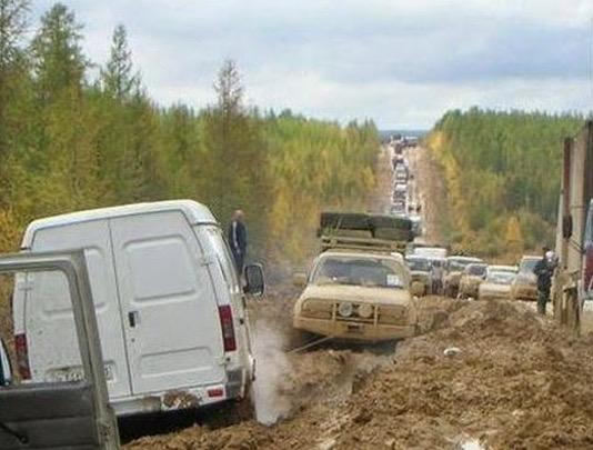 Anda Pasti Terkejut Melihat Lebuhraya di Rusia Ini