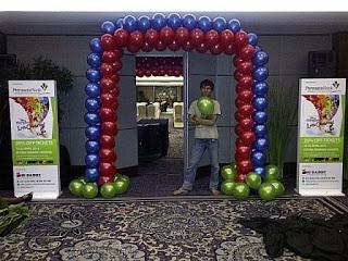 dekorasi balon Z