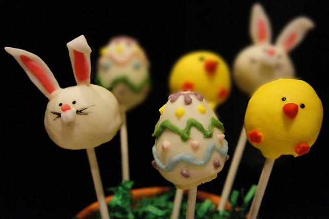 cake pops recipe. Easter Cake Pops