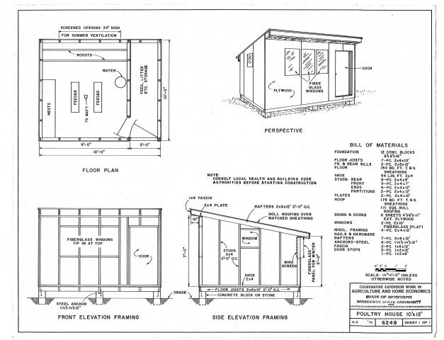 Chicken coop designs chicken coops plan for Plans for a chicken coop for 12 chickens