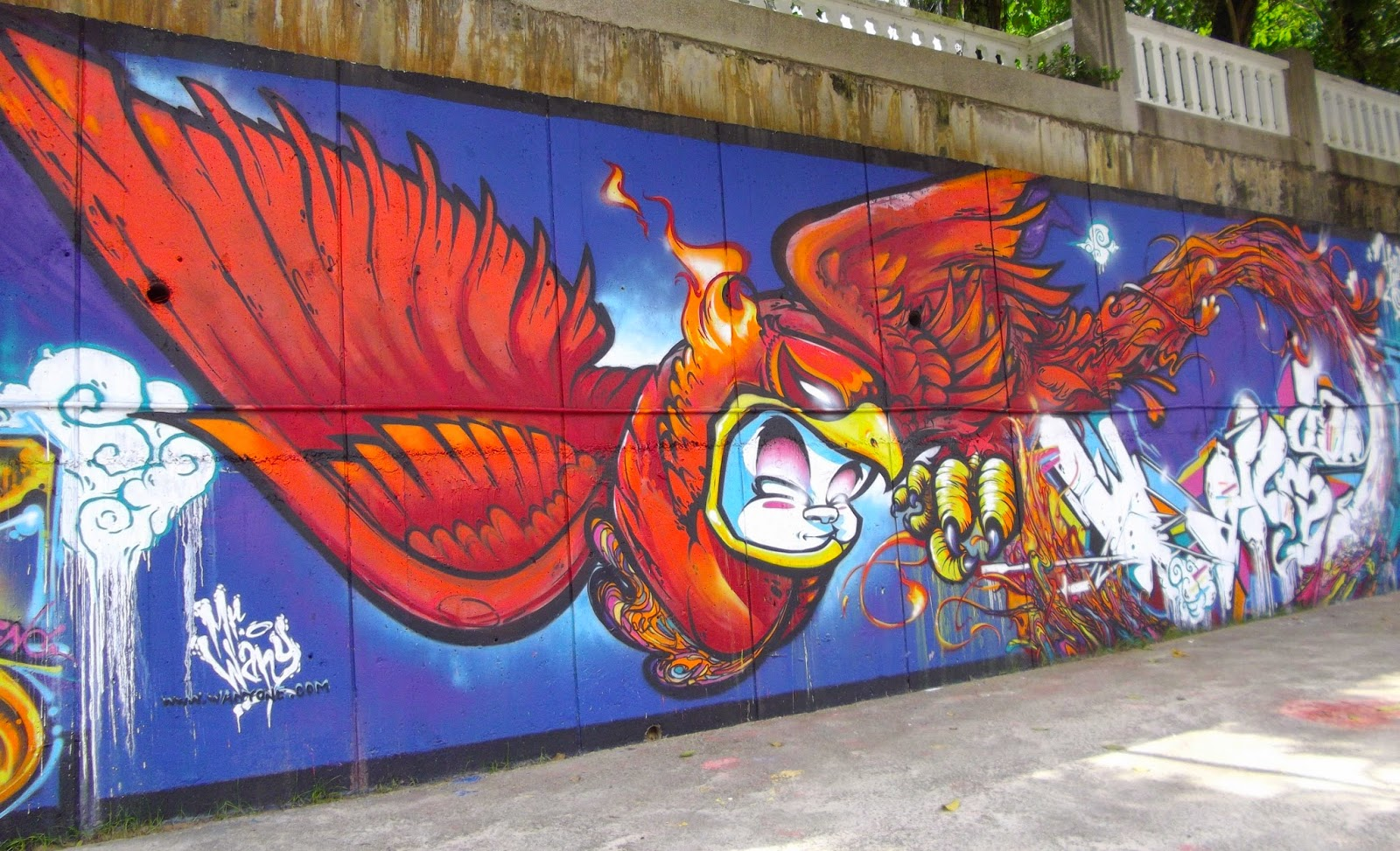 graffiti art Since 2008, the most engaging art has been right out there on the streets.