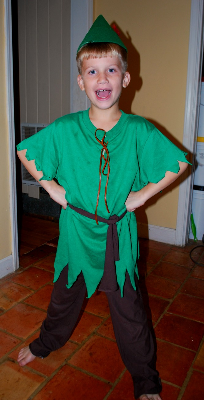 Boys Fairy Costume http://amyskin.blogspot.com/2011/10/easy-peter-pan-costume.html