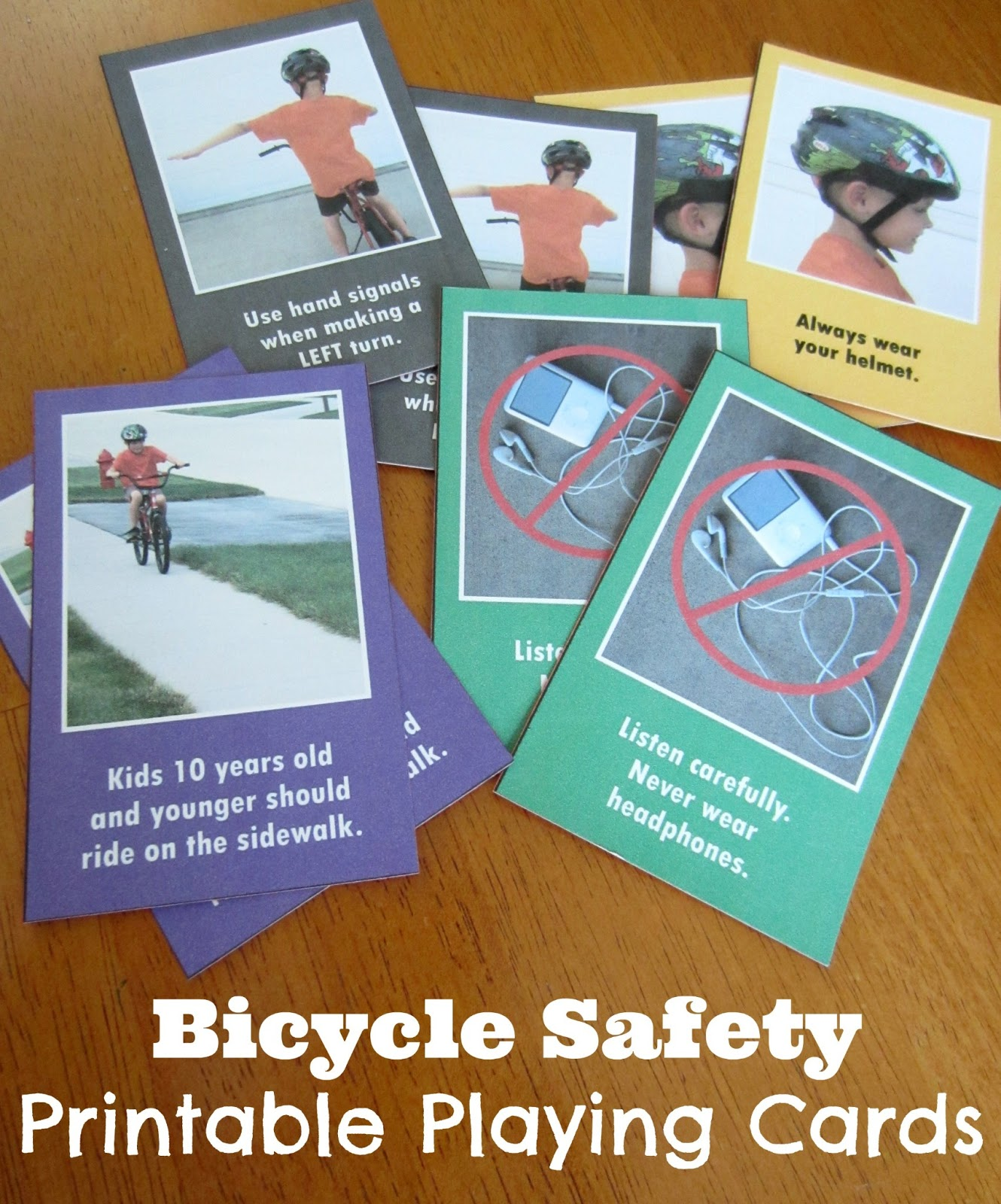 Relentlessly Fun, Deceptively Educational: Printable Bicycle Safety ...