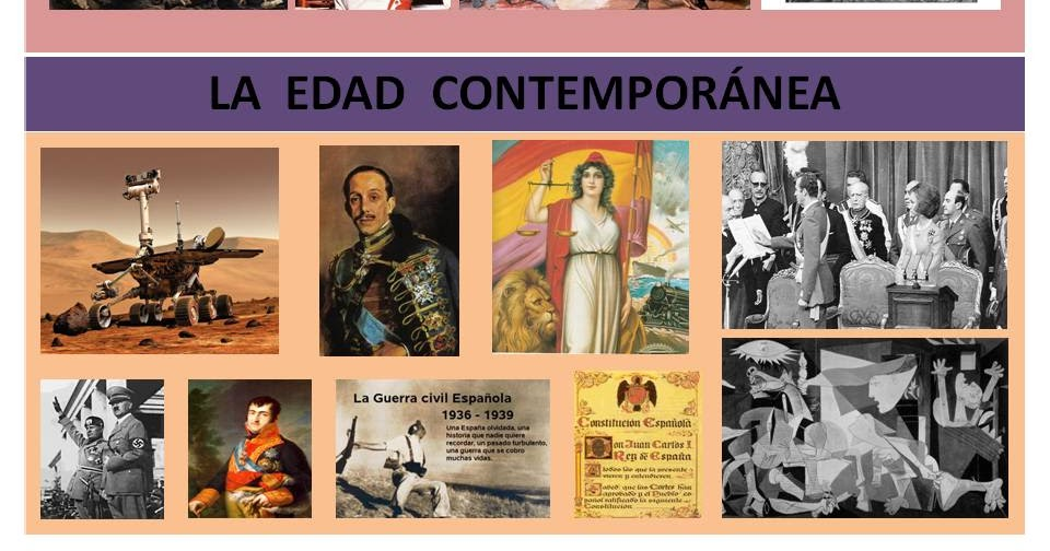 Educaprende la edad contempor nea espa a for Imagenes de epoca contemporanea