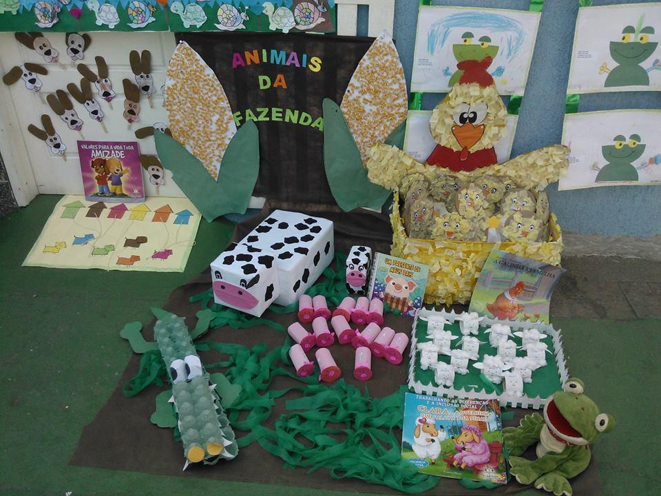 Amado Mostra Cultural Animais Educação Infantil | Ideia Criativa - Gi  LQ01