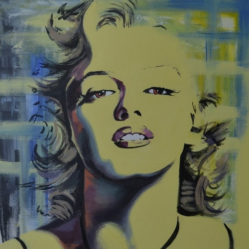 07-Marilyn-Monroe-Jonathan-Harris-Celebrity-Paintings-Images-and-Videos-www-designstack-co