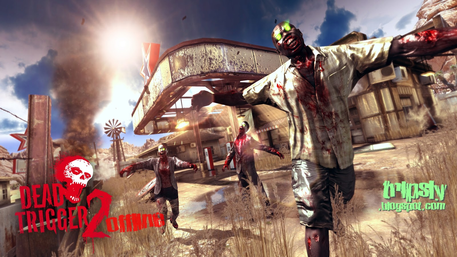Dead trigger 2 offline the reason behind tripsly youll know we all want to play a great fps game when we are travelling somewhere and we get bored but madfinger games didnt think so the game dead trigger first malvernweather Choice Image