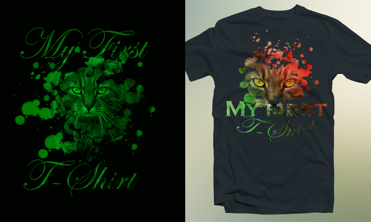 Shirt design in photoshop - How To Design A Cool T Shirt Graphic Photoshop Tutorial