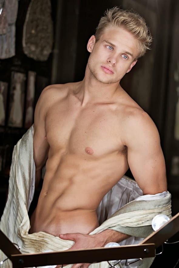 Gay blonde boys shirtless