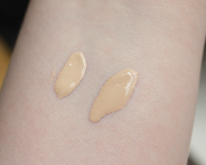 Maybelline Dream Wonder Fluid Touch Foundation 10 Porcelain Ivory 15 Ivory swatches