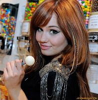 Debby Ryan celebrates her 18th birthday at the Sugar Factory at the Paris Las Vegas