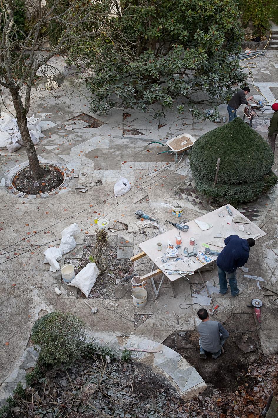 Revue jardins valentine de ganay un jardin persan en le for Jardin japonais en ile de france