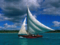 Fishing Sailboat