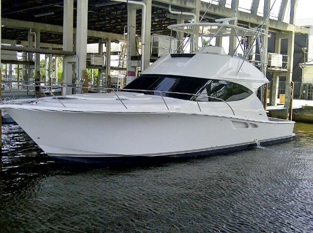 The Tiara 4800 Convertible - a hot model from Holland, Michigan