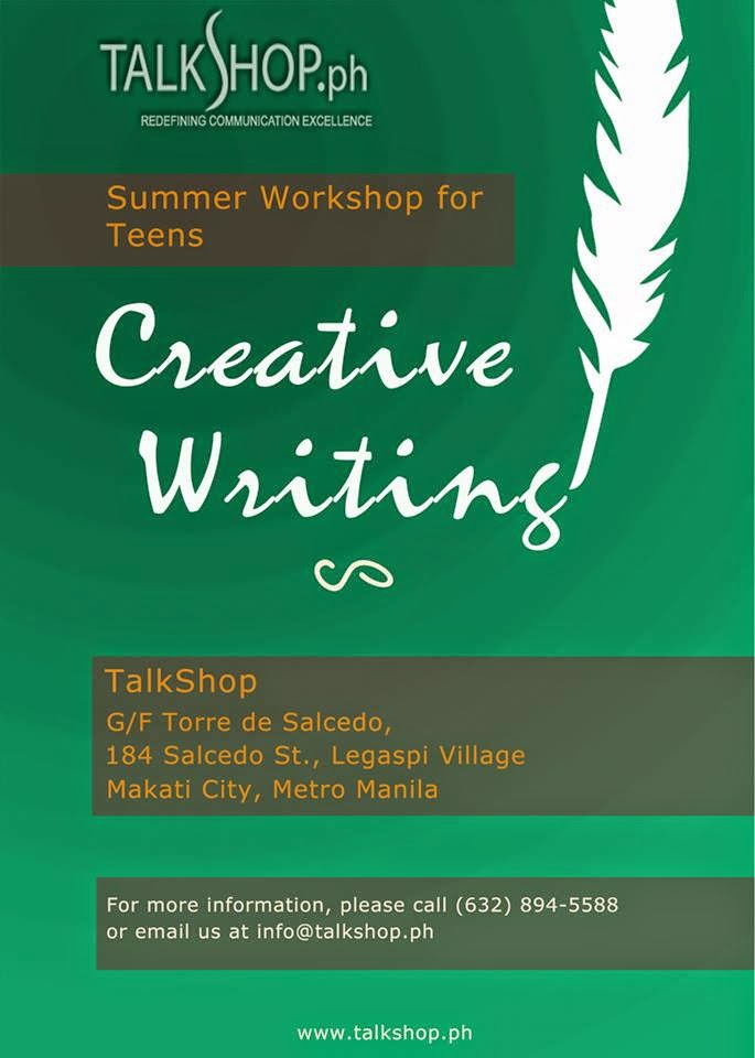 TalkShop Creative Writing Workshop